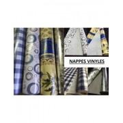 Nappe pvc vinyle argent