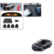 Auto Addict Car Black Reverse Parking Sensor With LED Display For Mitsubishi Lancer