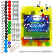 Organic Chemistry Model Kit has Atom and Bond Pieces For Building Molecular molecules- Student and Teacher kit- Include Molecular Model Kit Instructional Guide
