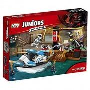 Lego juniors 10755 zane l'inseguimento della barca ninja