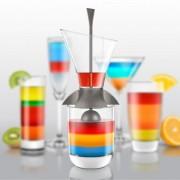 Palnie turnare cocktail-uri in straturi CD3159