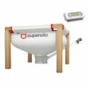 Supersilo Silo textile MINISILO 130 avec extraction par vis sans fin