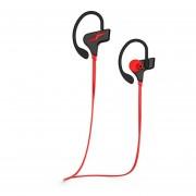 Audifonos Deportivos, Inalambricos Audifonos Bluetooth Manos Libres V4.1 Headset Nuevo Tiempo De Espera Música Manos Libres Auricular Estereo De Deporte Universal Para Sony Iphone Samsung (rojo)