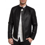 ONLY&SONS James Leather Jacket