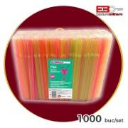 Paie flexibile colorate 1000 buc/set