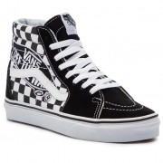 Sneakers VANS - Sk8-Hi VN0A38GEUPV1 (Vans Patch) Black/True W