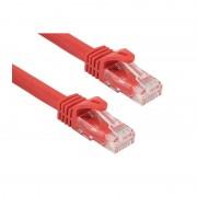 Cablu CAT6A UTP 20 m Rosu
