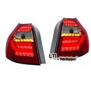 Feux arriere BMW Serie 1 E87 04-07 - LTI - Clair rouge