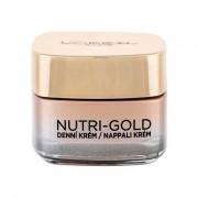 L´Oréal Paris Nutri-Gold crema giorno nutriente per il viso 50 ml donna