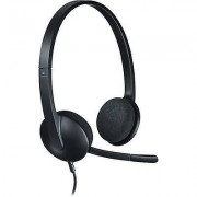 Logitech PC headset USB Corded, Stereo Logitech H340 On-ear