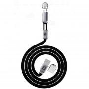 Louiwill Wangn? WK 2 En 1 Cable USB Nueva Línea De Cargador De Línea De Datos De Conector De Teléfono Universal Para IOS / Android
