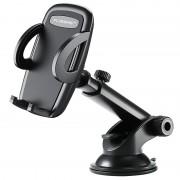 Suporte de Carro Universal com Ventosa Floveme - 3.8-6.5 - Preto