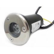 Silamp Spot Extérieur Encastrable Sol LED 3W IP65 45 - couleur eclairage : Blanc Neutre 4000K - 5500K