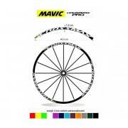 kit adesivi cerchi bici mtb mavic CROSSMAX pro anno 2016/2017 colore personalizzato antigraffio