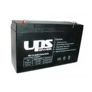 UPS Power 6V 12Ah zselés akkumulátor (MC12-6)