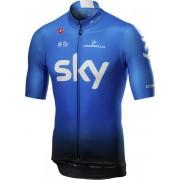 Castelli Team Sky 2019 Squadra - maglia bici - uomo - Blue