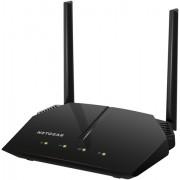 Netgear R6120-100PES Router AC1200 Dual Band, 300 + 900 Mbps, USB per Accesso Storage, App Genie, 5 Porte Fast, Antenne Esterne, Nero