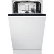 Masina de spalat vase incorporabila GORENJE GV52010 9 seturi 5 programe 45 cm clasa A++