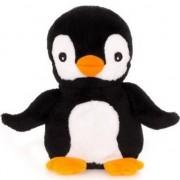 Merkloos Magnetron warmte knuffel pinguin 23 cm