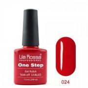 Oja semipermanenta OneStep Lila Rossa Professional 7.3ml OLROS024