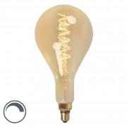 Calex E27 LED MEGA Teardrop Spiral Filament 4W 200LM 2100K Dimmable