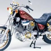 Tamiya Motocyklový model, stavebnice Tamiya Yamaha XV1000 Virago 300014044, 1:12