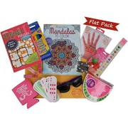 Teen Girl's Flat Pack - Pamper Her at Summer Camp, Birthday, or Anytime with a Pack Full of Fun Activities and Gifts to Make Her Feel Special