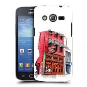 Husa Samsung Galaxy Core 4G LTE G386F Silicon Gel Tpu Model Old Town Bar