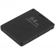 ER 1pc Tarjeta De Memoria De 64 MB Sony PlayStation 2 Juego Consola PS2 Nuevo Negro.