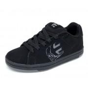 rövidszárú cipő gyermek - ETNIES - BLACK-CHARCOAL