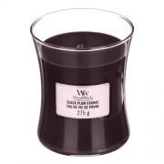 WoodWick Lumânare parfumată Black Plum Cognac 275 g