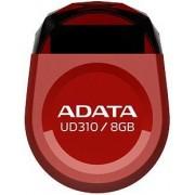 Stick USB A-DATA UD310 8GB, Waterproof, Rezistent la socuri (Rosu)