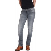 Rokker The Donna Grey Ladies Motorcycle Jeans Grey 3XL