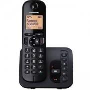 Безжичен DECT телефон Panasonic KX-TGC220FXB, Черен, 1015130