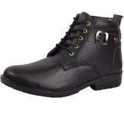 Floxtar Men Black Boots