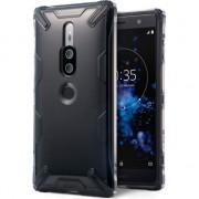 Husa telefon ringke Ringke Air-X Sony Xperia XZ2 Premium Negru de fum