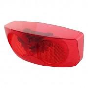 Cortina achterlicht/ reflector voor Ecomo fietsaccu