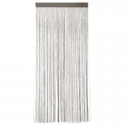 Deurgordijn Lise - taupe - 200x90 cm (1 stuk) - Leen Bakker