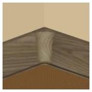 PBY605.159-S4 - Set 4 bucati piese colt interior culoare stejar vechi pentru plinta PBC605