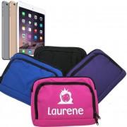 Luxe mini iPad/Tablet hoesje met naam bedrukt