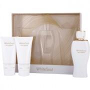 Ted Lapidus White Soul lote de regalo I. eau de parfum 100 ml + crema corporal 100 ml + gel de ducha 100 ml