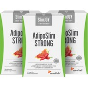 SlimJOY AdipoSlim STRONG Kapseln zum Abnehmen am Bauch, 3-Monats-Programm