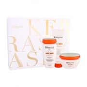 Kérastase Nutritive Bain Satin 2 Irisome sada šampon 250 ml + maska na vlasy 200 ml + vyživující balzám 150 ml pro ženy