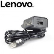 100 Original 1 Amp Quick Charger Adapter + USB Cable for Lenovo Mobile Phones.