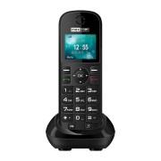 Maxcom MM35D mobiltelefon asztali töltővel, egy sim-es, kártyafüggetlen, fm rádiós fekete