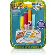 Crayola Mini Kids Color Pop Colour Pop – 81-2007-E-000 4X Marker Refill – Water Washable Colouring