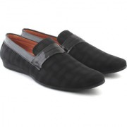 Shoe hub Men's Black Casual Shoes