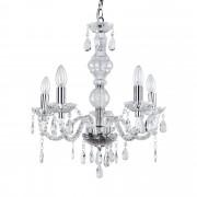 PremiumXL - [lux.pro] Elegantan luster – stropna svjetiljka s 5 grana – 5 x E14 - krom