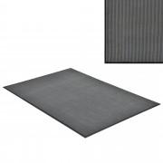 [en.casa] Lábtörlő szőnyeg - csúszásgátlóval / előszoba szőnyeg - 180x120cm (sötétszürke)