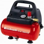 einhell 4020495 Compressore Portatile D' Aria Compressa Capacità 6 Litri Pressione 8 Bar 230v - Th-Ac 190/6 Of - 4020495